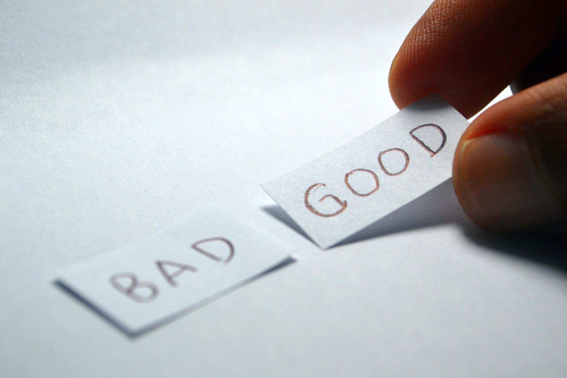 Busca en lo malo lo bueno